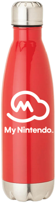 My Nintendo water bottle