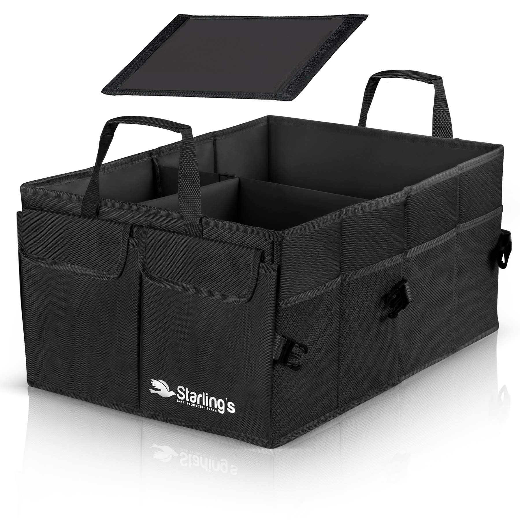 Starlings Car Trunk Organizer Super Strong, Foldable