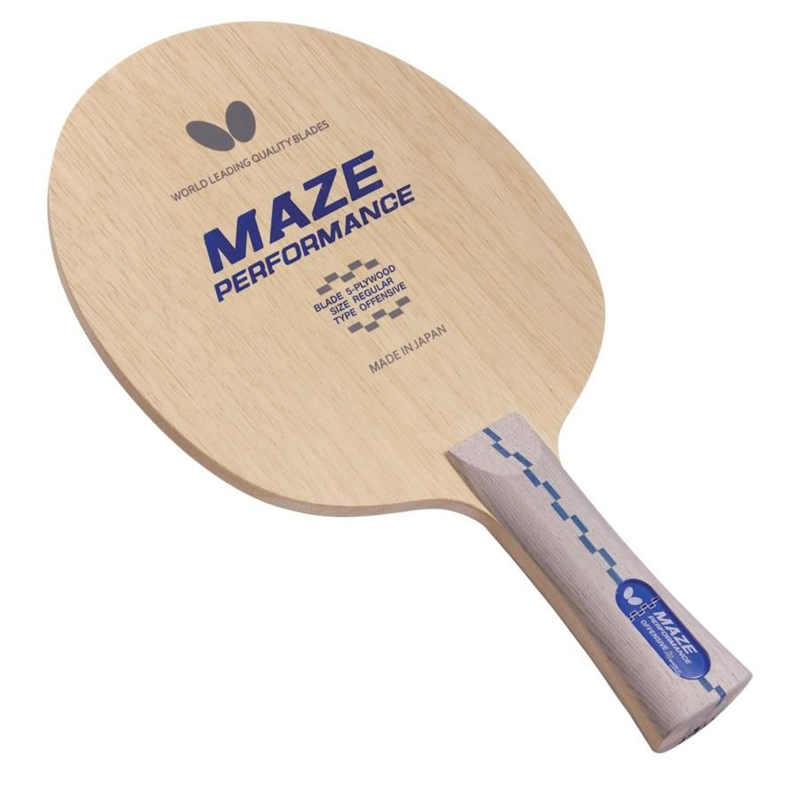 Maze Performance Blade Distinguished High Level Performance Fast All Wood Blade Provides P Table Tennis Racket Butterfly Table Tennis Billiard Accessories