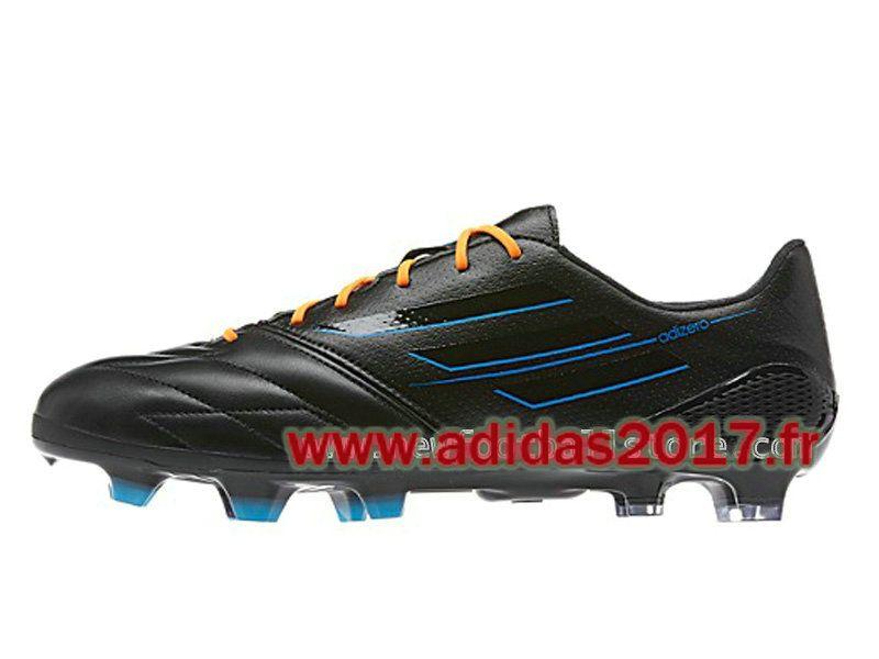 Boutique Adidas Homme Soccer F50 AdiZero TRX FG Cleats Noir F32790