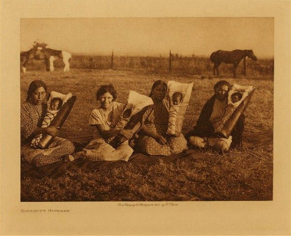Comanche Mothers  wished i knew their names