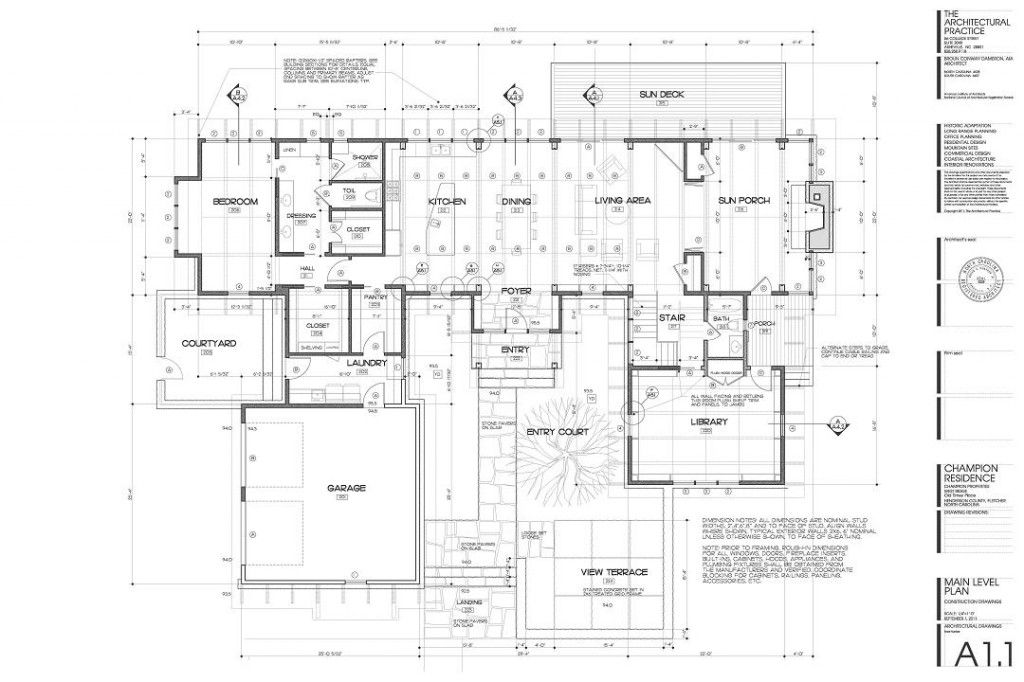 Construction drawing for Construction plan drawing