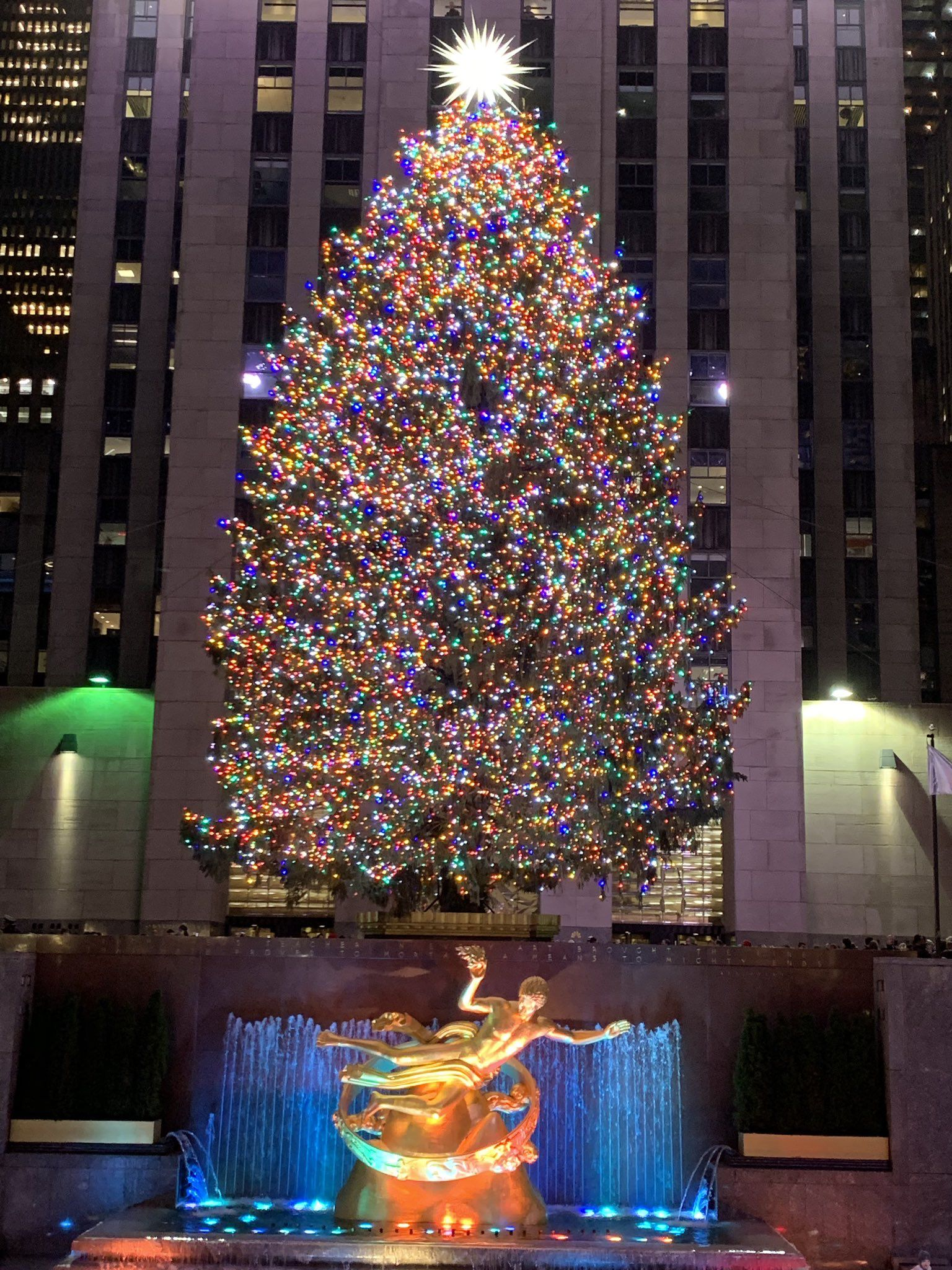 Pin by Daisy Rodriguez on ♥️#ChristmasSeason 2018 #NYC #USA | New york christmas, New york city ...