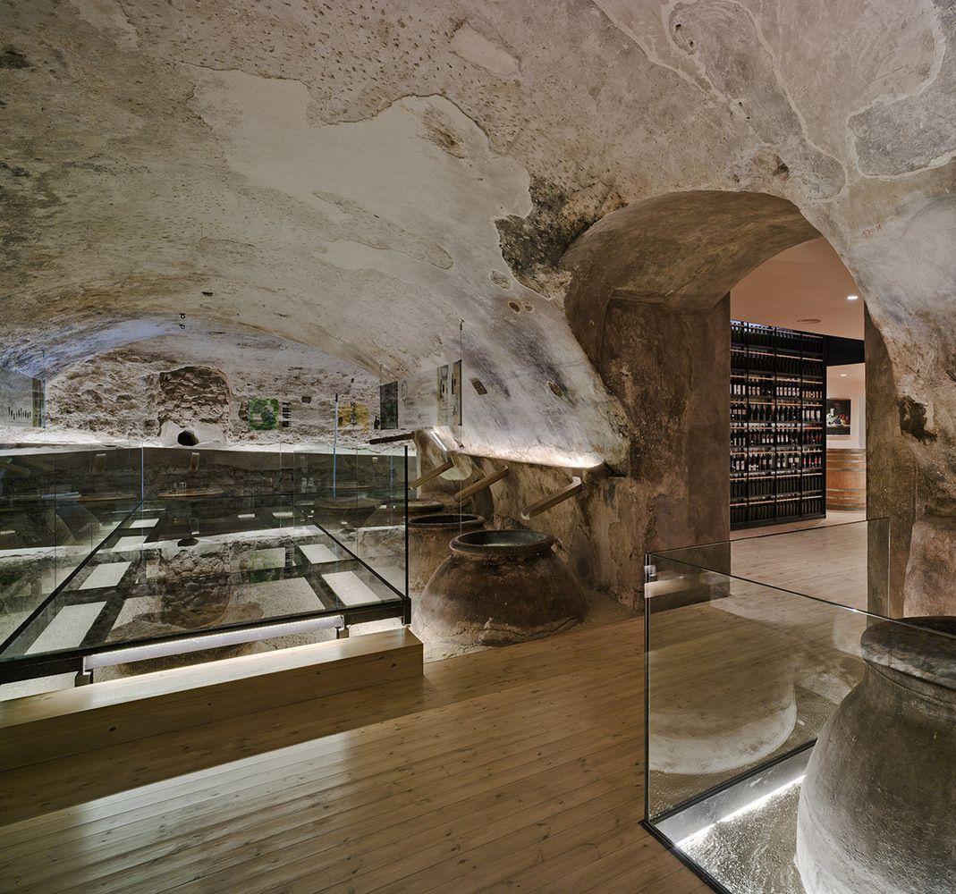 Galer A De Ceheg N Wine School Inmat Arquitectura 13 David  # Muebles Cehegin