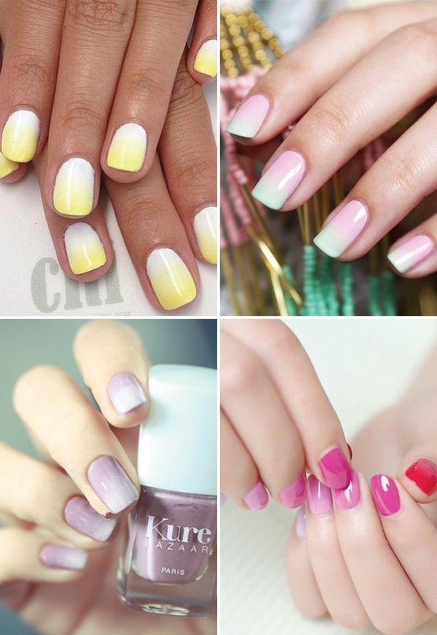 bold and bright summer nail design