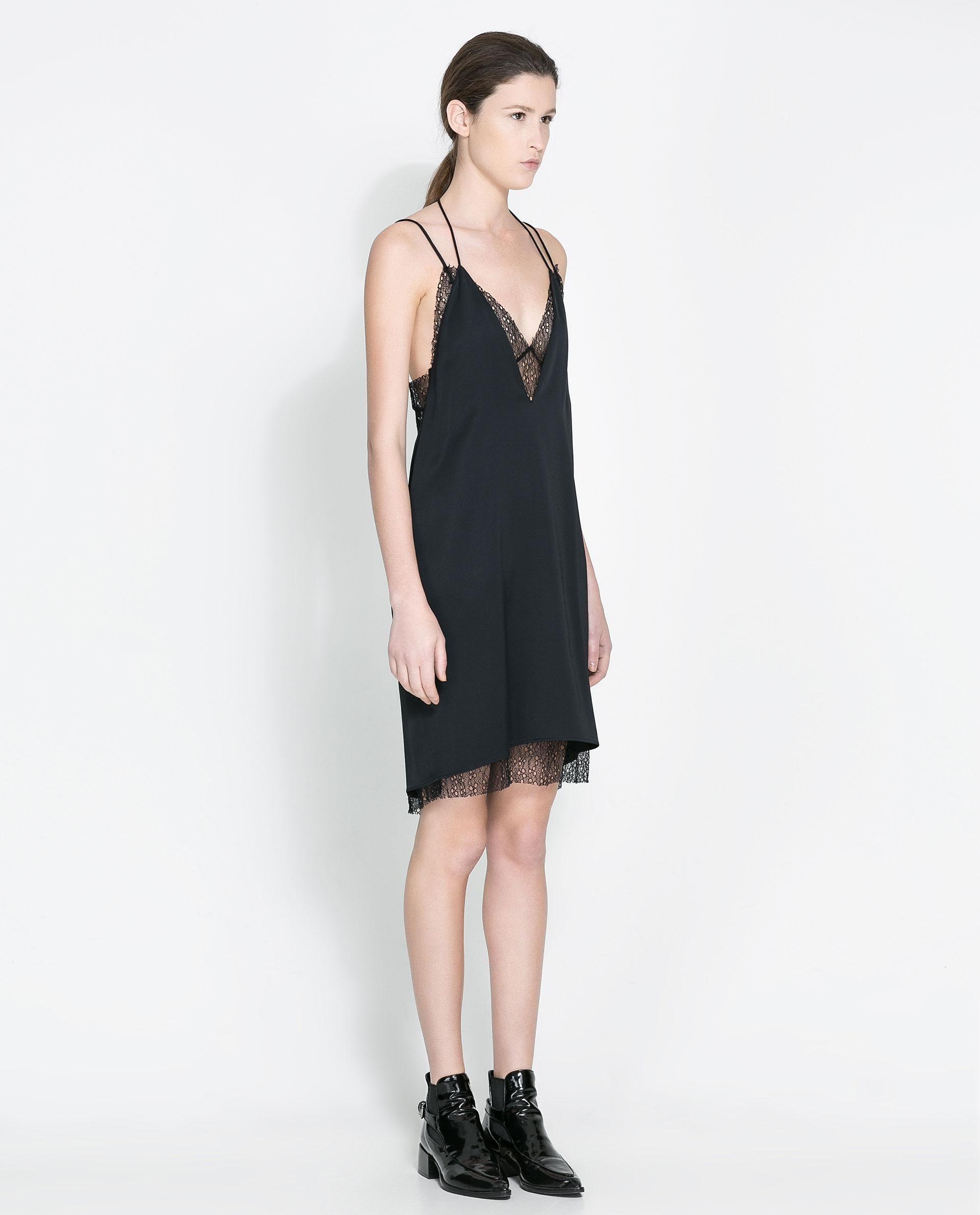 e3cb3210 Zara Studio Mesh Dress | Effortless Style | Fashion, Zara dresses ...