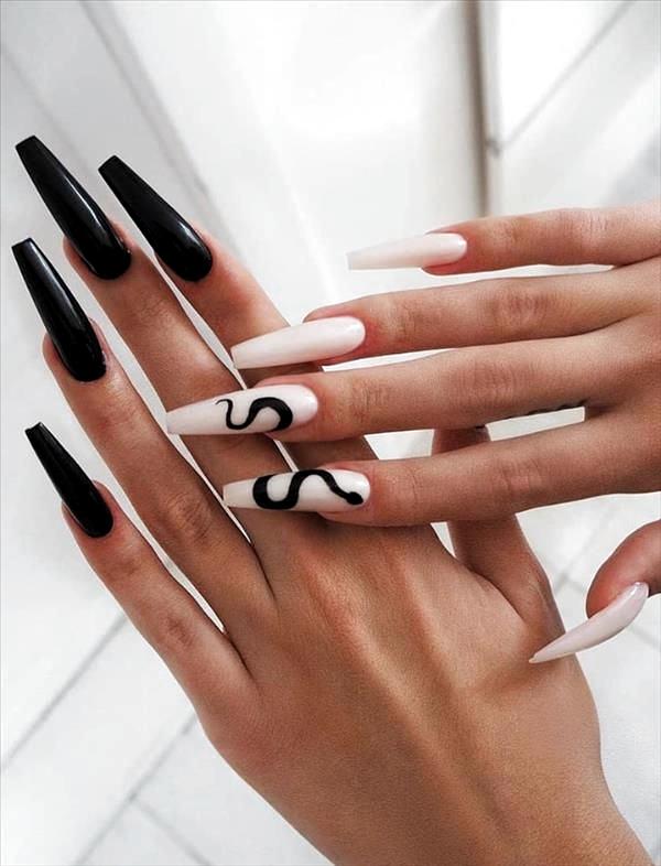 Pin By Kenzi Lancaster On Unas Perfectas In 2020 Long Acrylic Nails Pretty Acrylic Nails Long Nail Designs