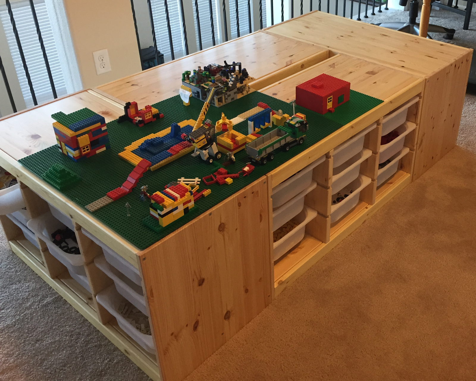 A Story About How The Lego Table Goes Awesome This