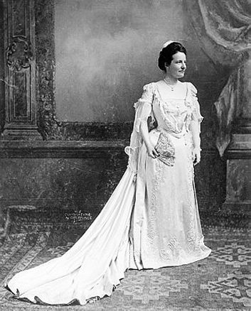 Edith Roosevelt Inaugural Gown