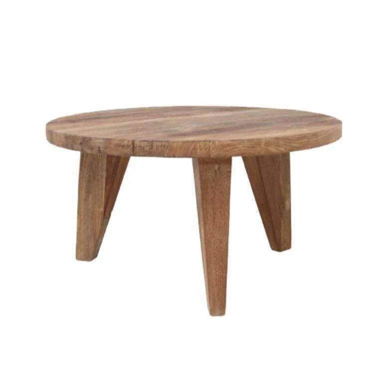 Round Teak Coffee Table | 65cm in 2020 | Coffee table ...