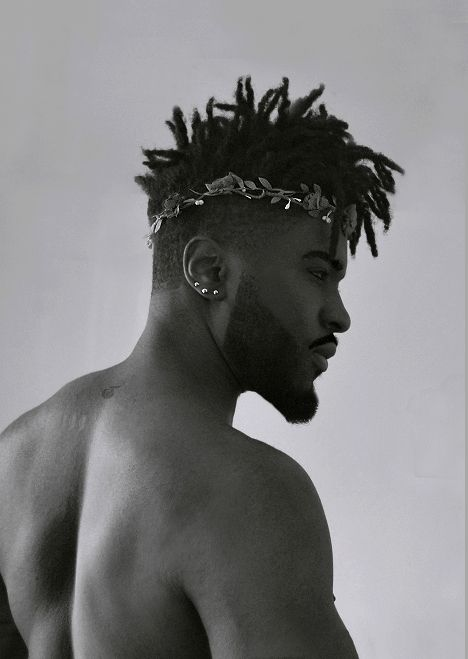 Black bad man haircut