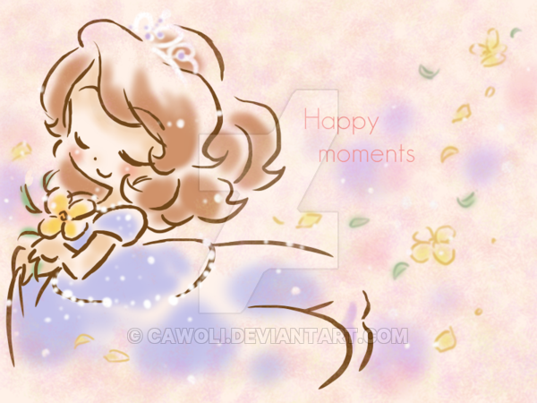 Happy moments by cawoli