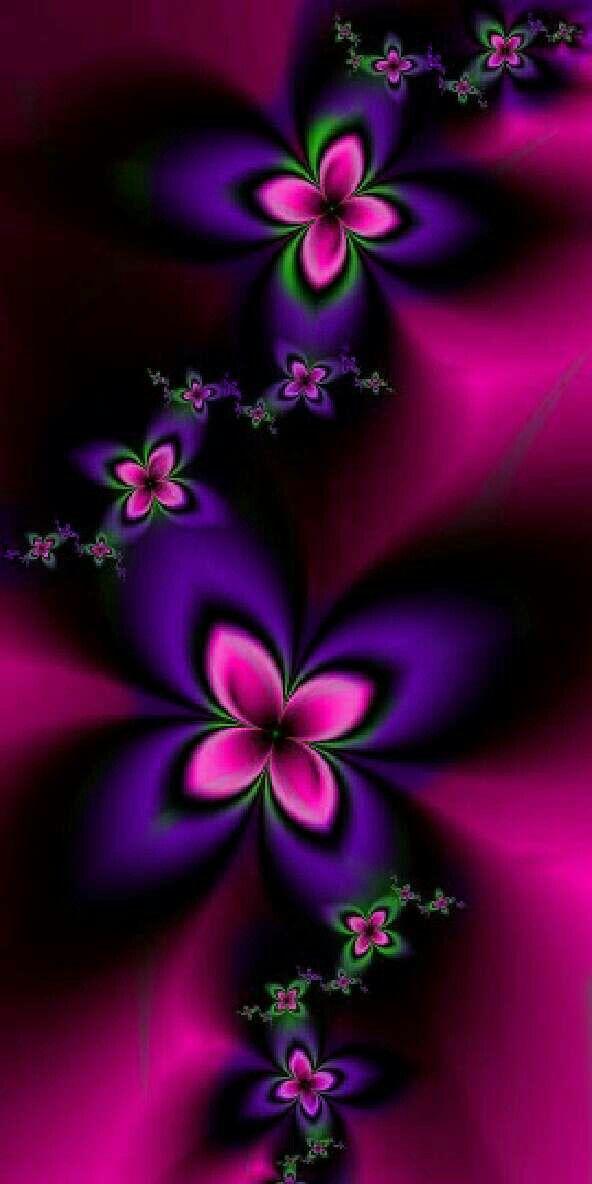 Dark pink dark purple abstract wallpaper pinterest flowers dark pink dark purple blue flower wallpaper butterfly wallpaper colorful wallpaper mightylinksfo