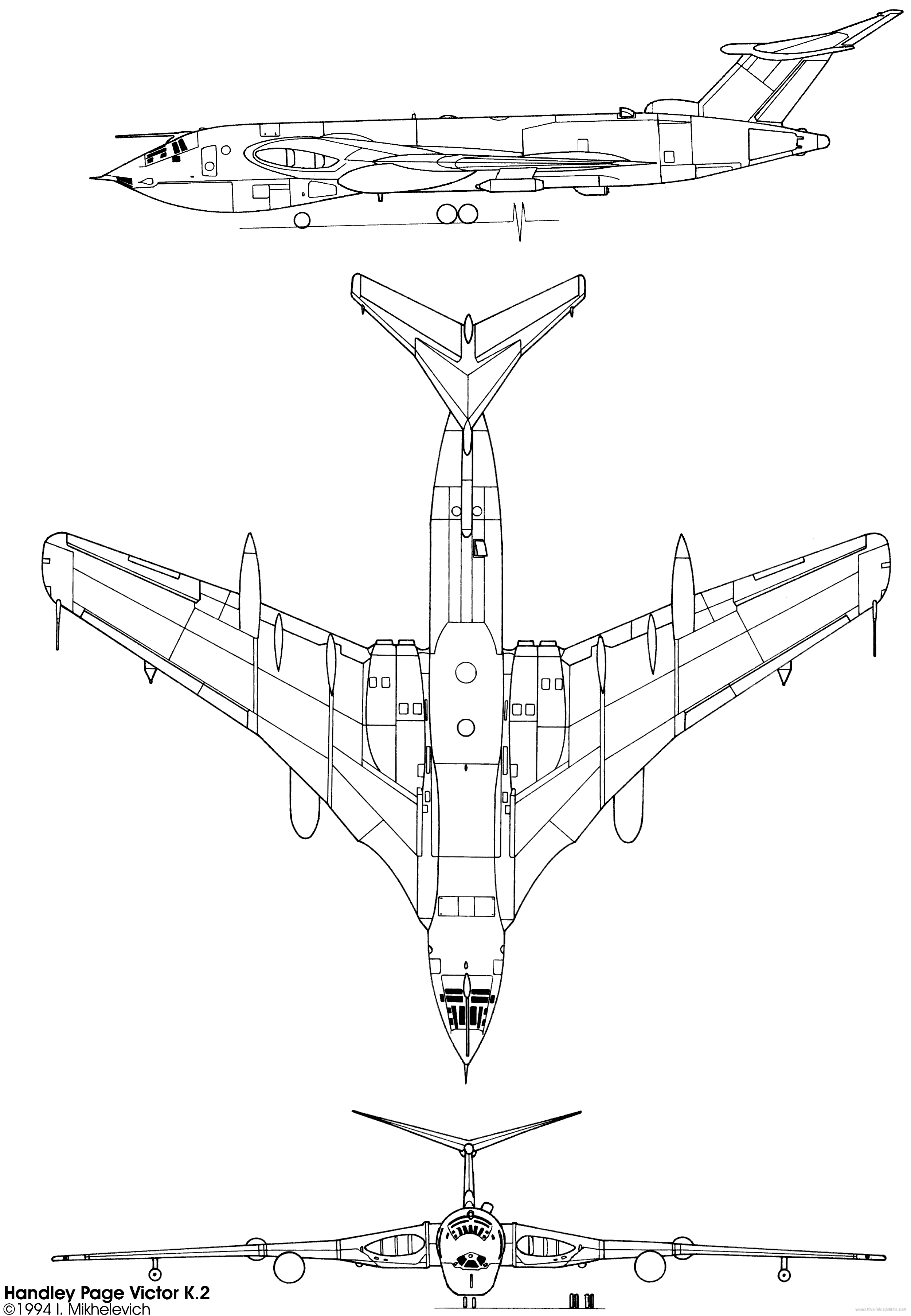 Handley Page Victor - Page 2 - RC Groups | Random, because I