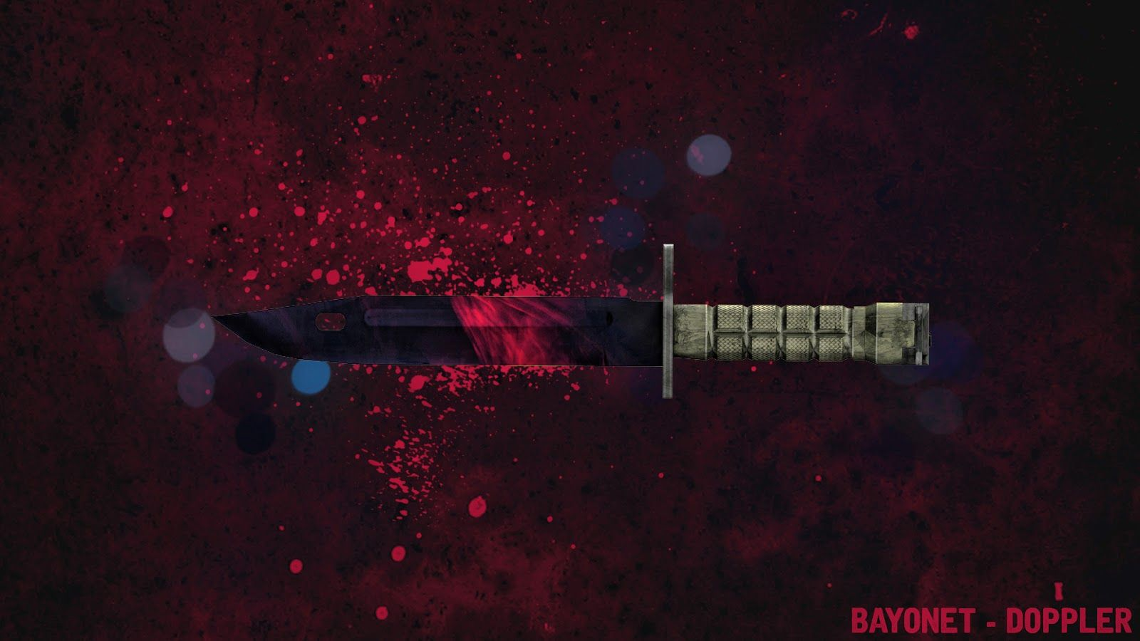 Csgo Knife Skin Wallpaper 1600x900 Csgo