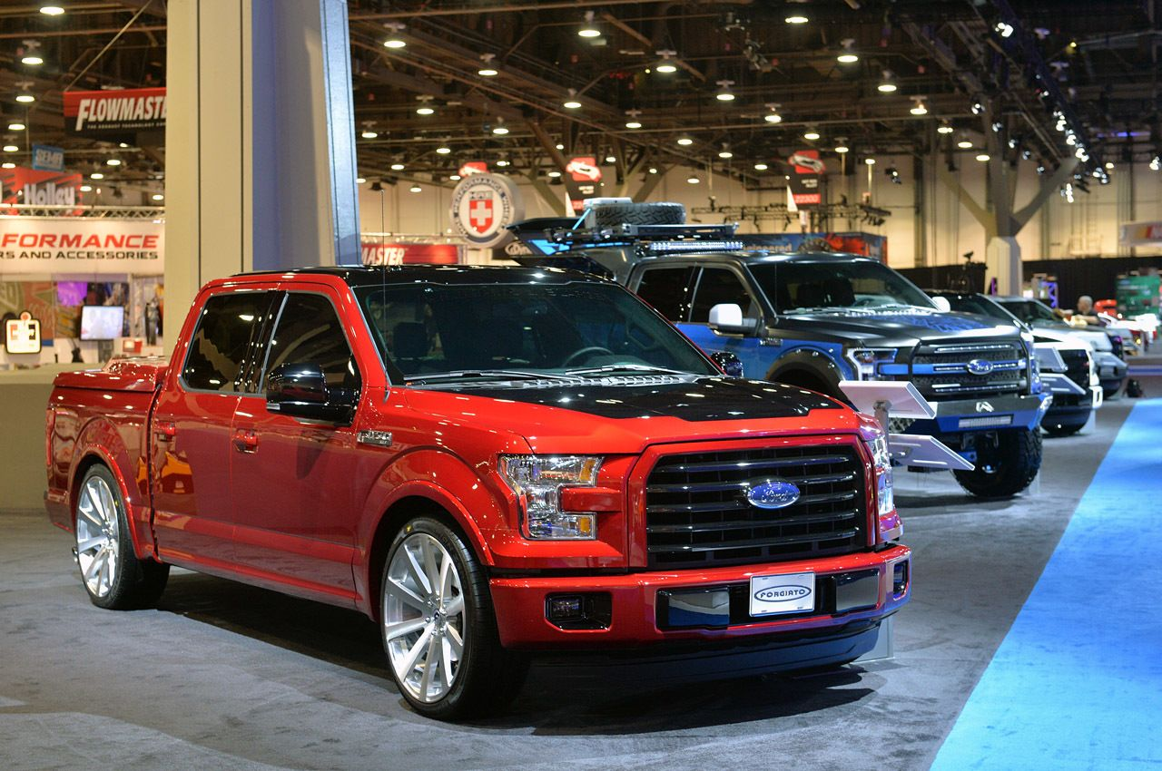 View detailed pictures that accompany our 2015 ford customs sema 2014 article with close up photos of exterior and interior features