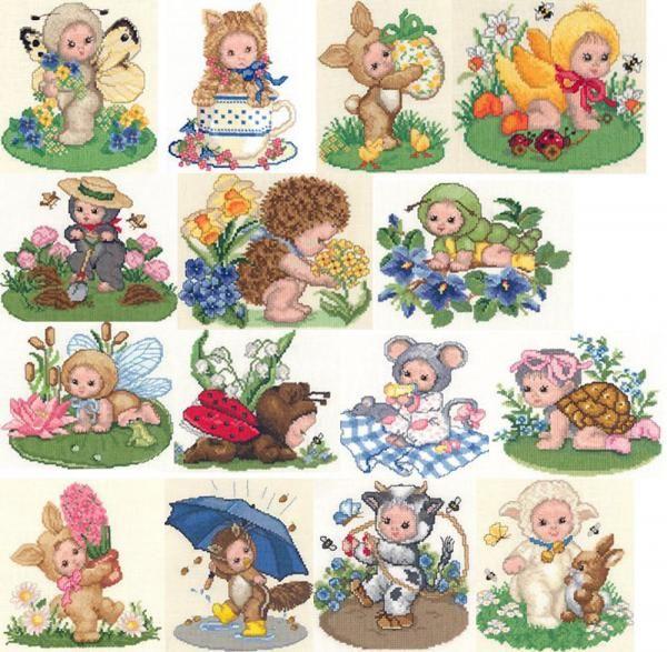 for kids   my board   Pinterest   Punto de cruz, Bebe y Puntos