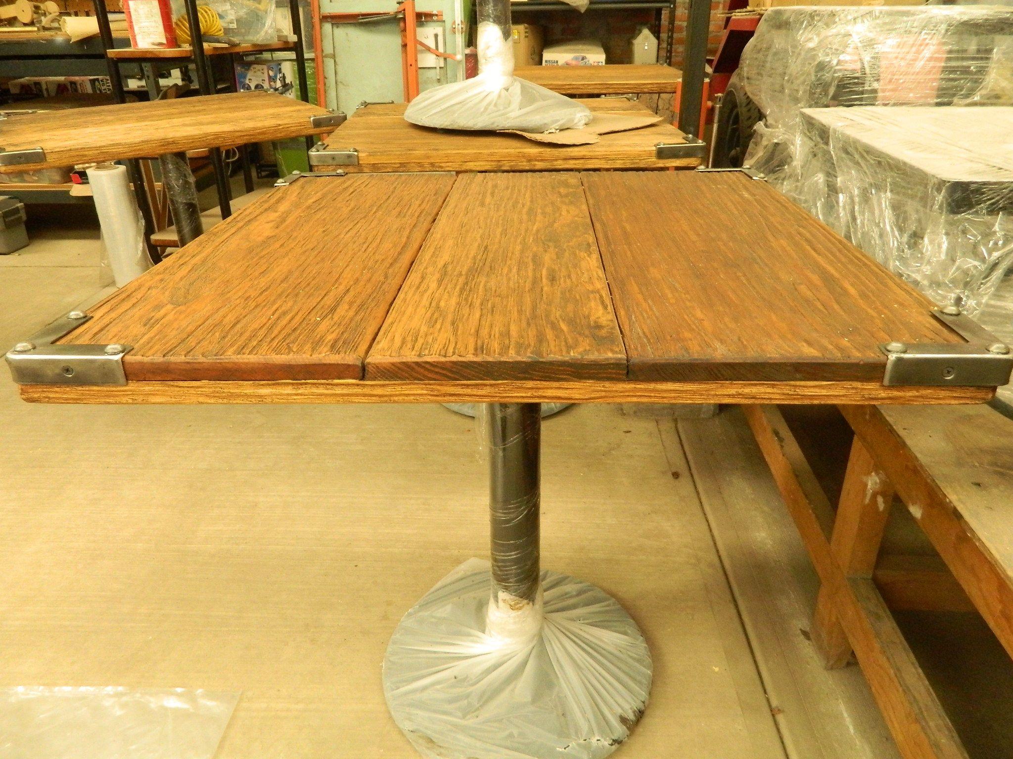 mesa para restaurante duradera y elegante ideal para