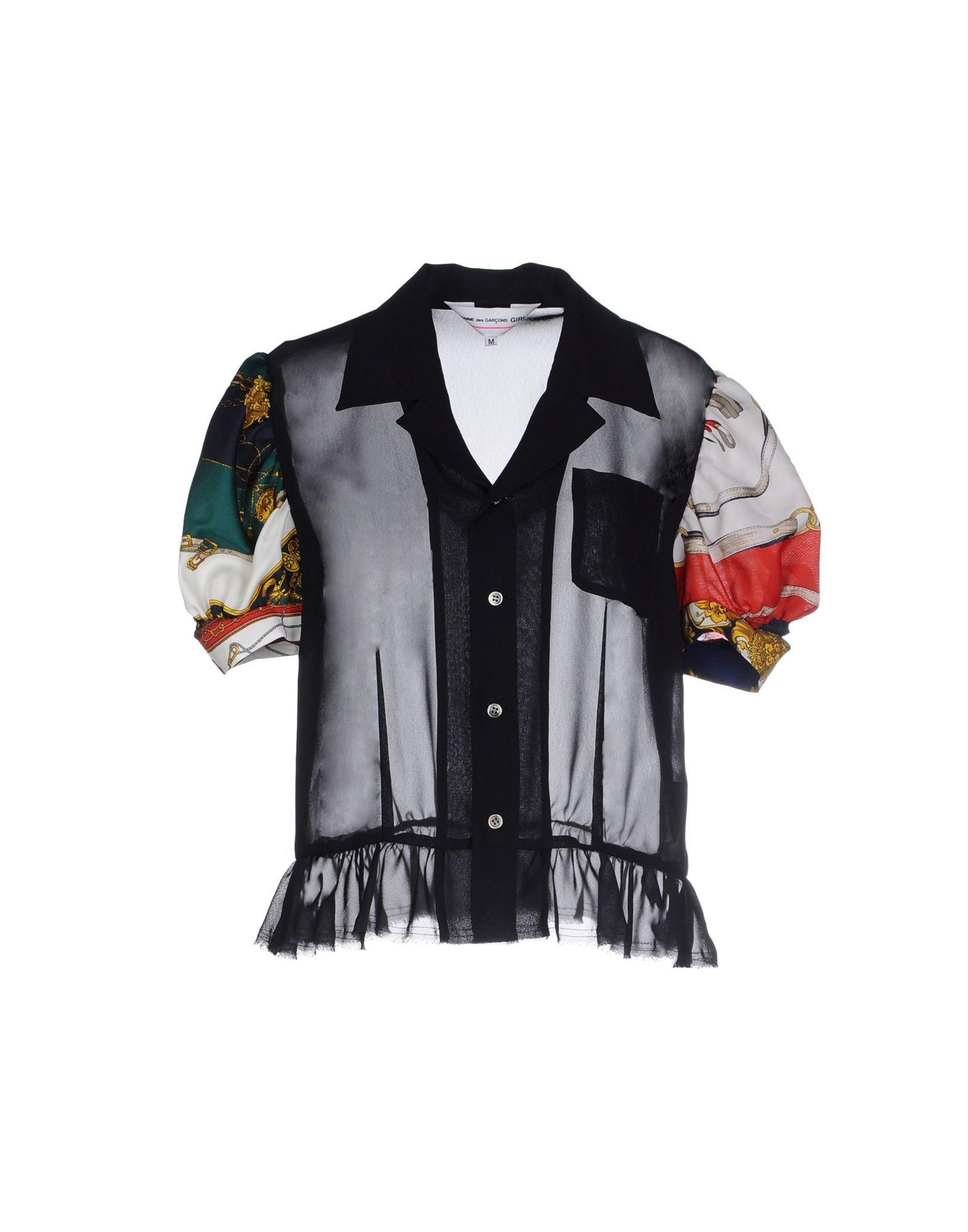 fbb212ac375 Comme Des Garçons Women Shirt on YOOX.COM. The best online selection of  Shirts Comme Des Garçons. YOOX.COM exclusive items of Italian and  international ...