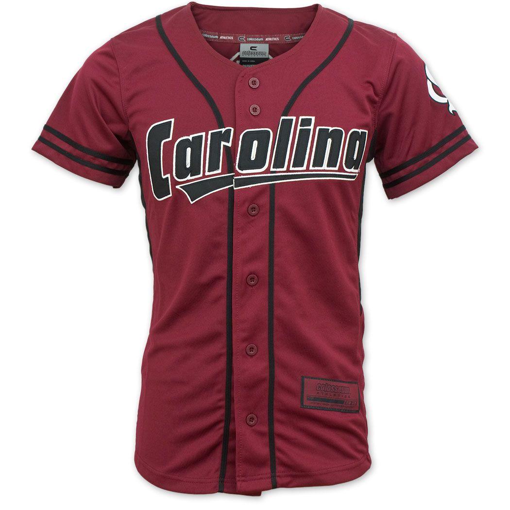 big sale 1b722 afa7c South Carolina Gamecocks Colosseum Baseball Jersey ...