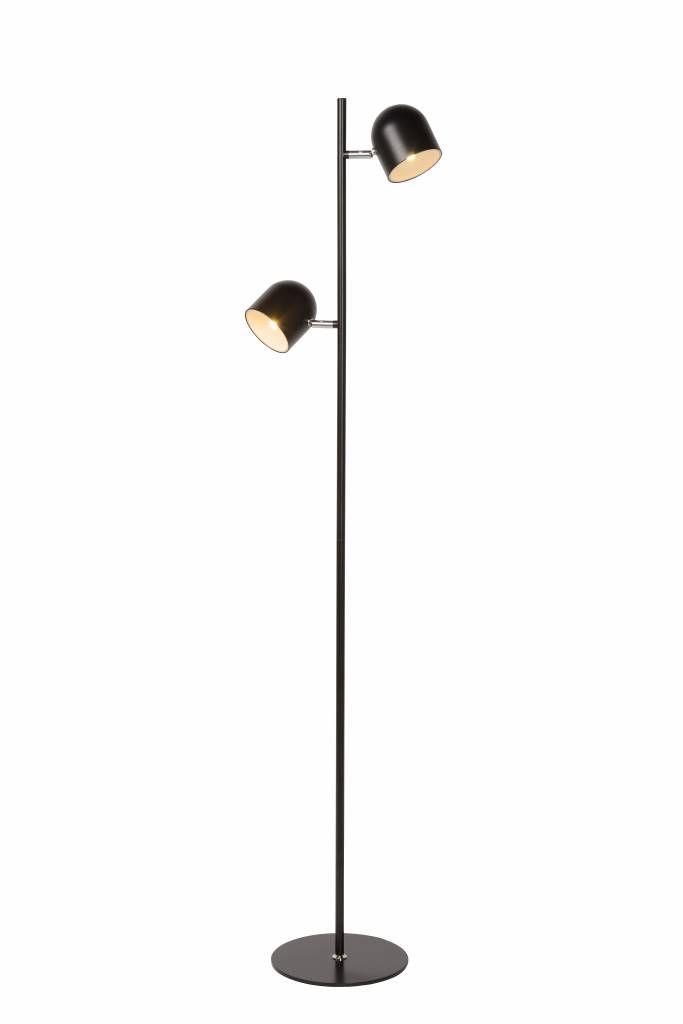 Wonderbaarlijk Staande lamp Scandinavisch zwart, wit LED 2x5W 141cm | Lampen GV-78