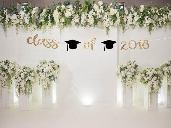 Class of 2019 banner graduation party graduation decoration