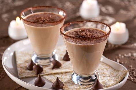 Chocolate mandarin dream cocktail