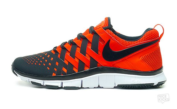 New High quality Nike Free Run Trainers in Orange (Men