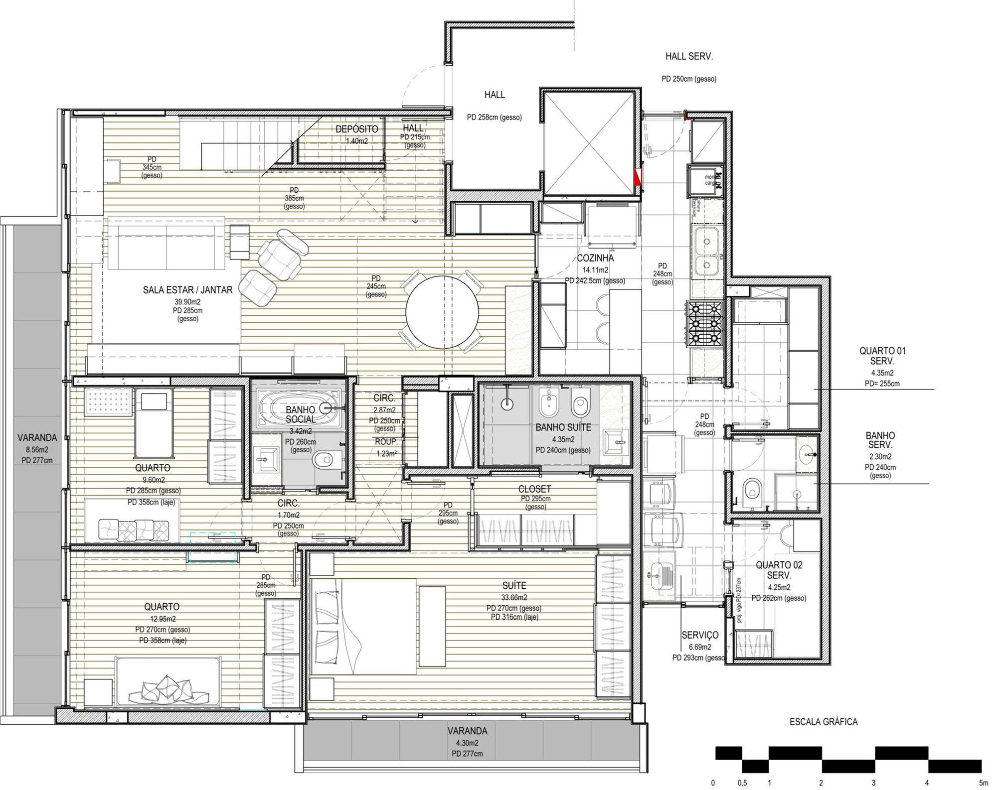Jmf Residence Ivan Rezende Arquitetura Floor Plans House