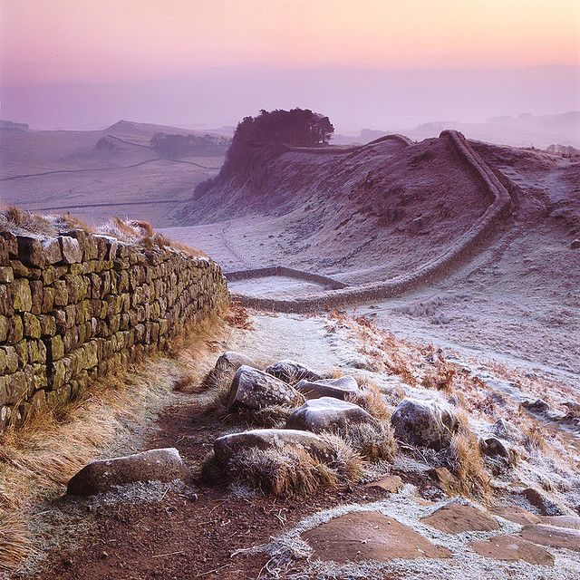 Hadrian's Wall in England was a defensive fortification in Roman Britain, begun…