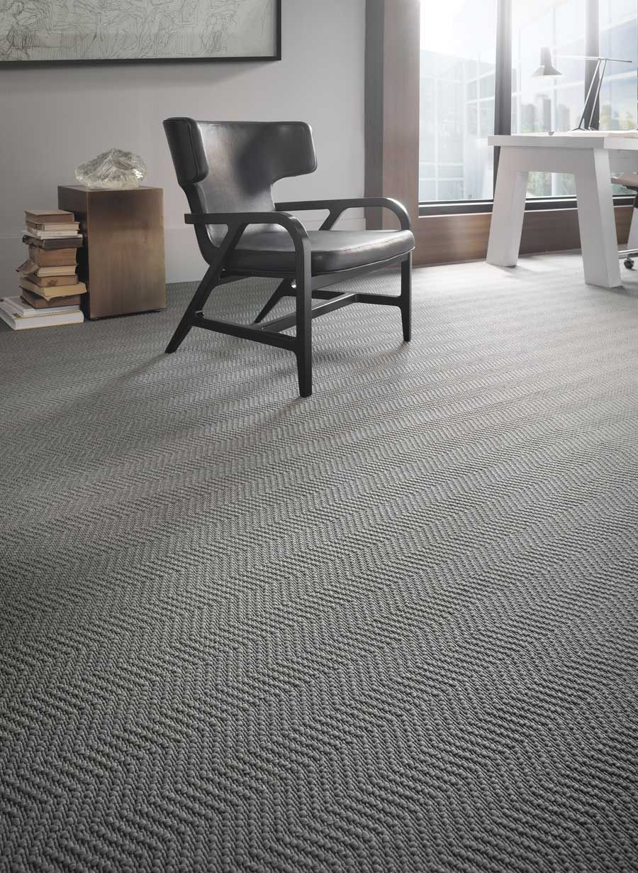 Woven Patterned Carpet: A Different Angle, Karastan Commercial Woven Carpet