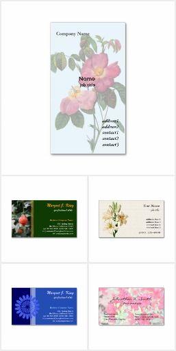 Flower Business Cards I