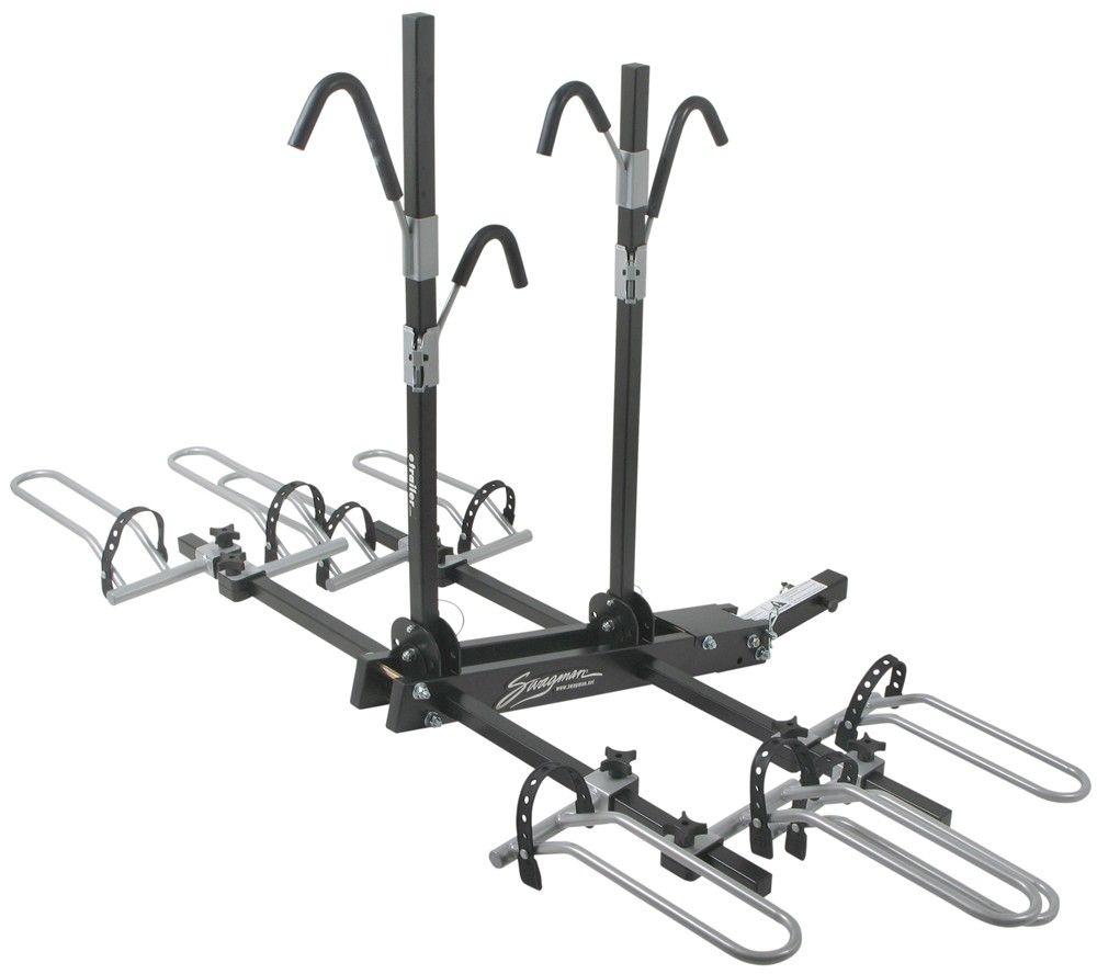 Kia Sorento Swagman Xtc4 4 Bike Rack For 2 Hitches Platform