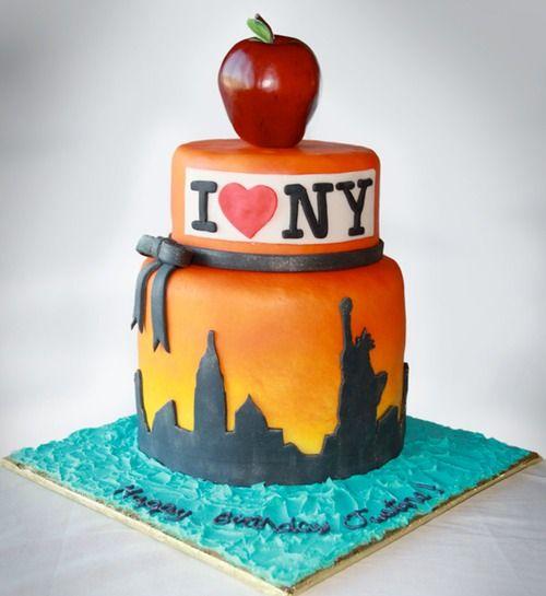 Bobby Might Have A Birthday Cake Like This, A New York Birthday Cake.