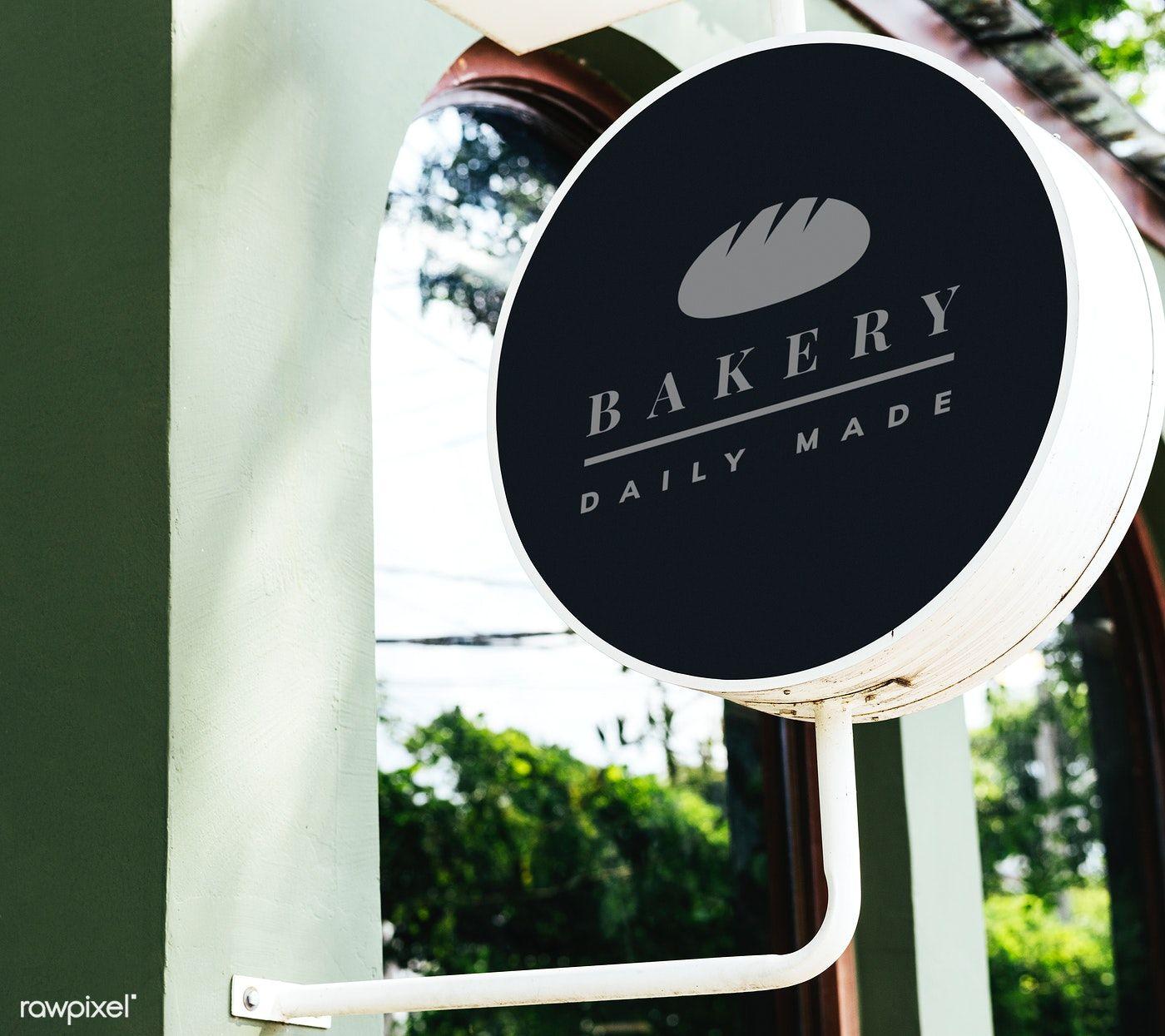 Restaurants logo mockup