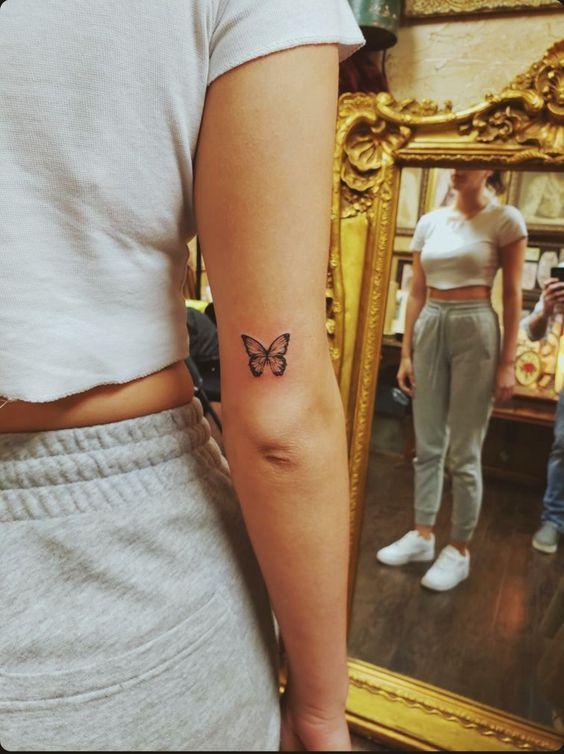 25 Impressive and Meaningful Butterfly Tattoos That Rock - Fancy Ideas about Everything
