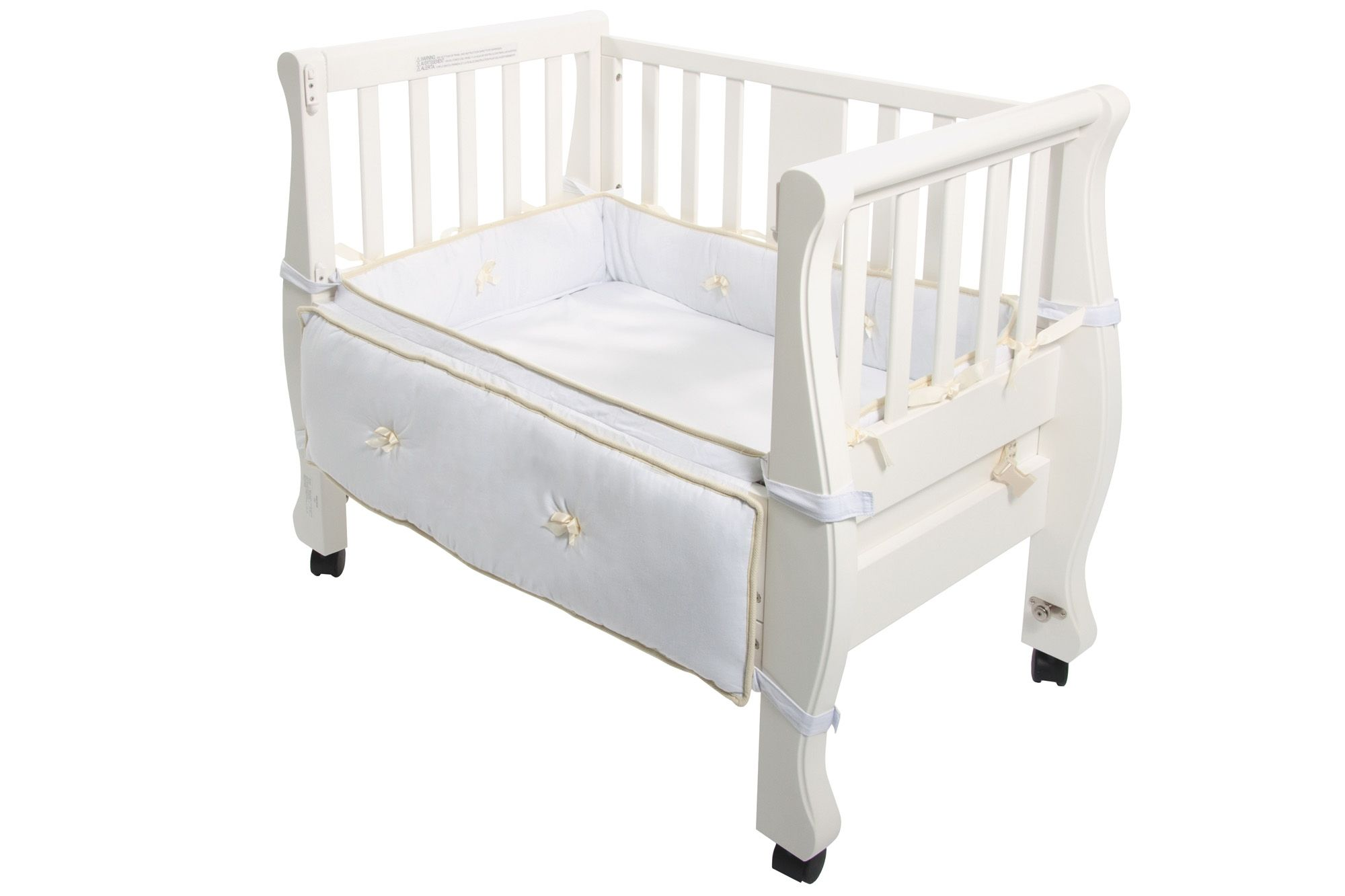 Baby bed co sleeper - Sleigh Bed Co Sleeper
