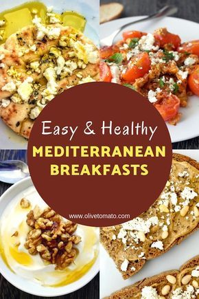 5 Mediterranean Breakfasts to Try Today