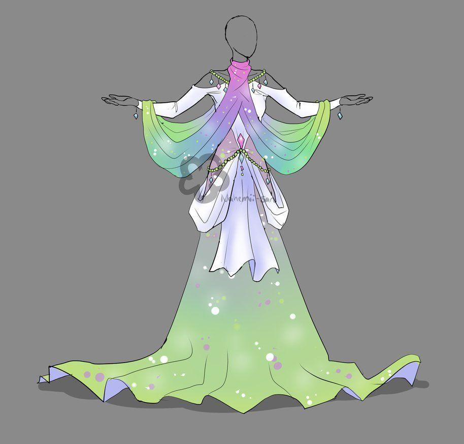 Pastel dress adopt for sale by nahemiisan on deviantart