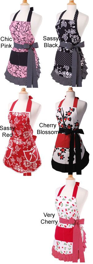 If you are looking for a unique gift to send this Valentine's Day, send a flirty apron!
