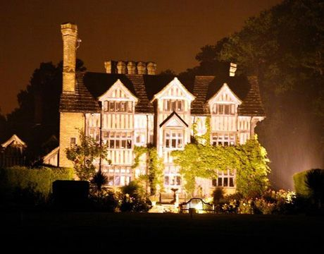 Country House Wedding Venue Great Ote Hall Looks Stunning Lit Up At
