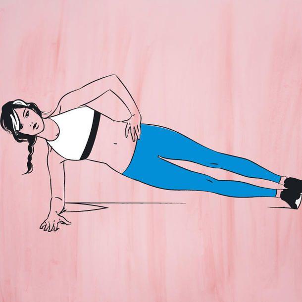 Bauchmuskelübungen: 5 Übungen für einen flachen Bauch