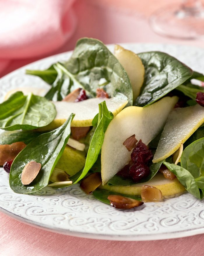 Winter Salad with Pears & Bacon — Beth Dunham