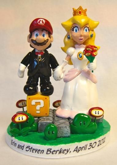 #Custom #WeddingCharacter Themed Cake Toppers by Paul Pape Designs @ Makeably | Hatch.co