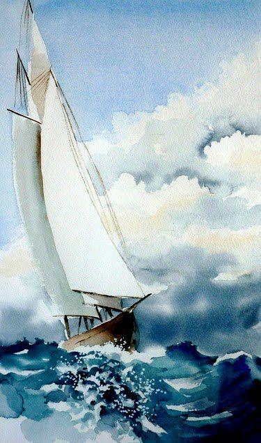 Vittoria Piccioni Peinture De Voilier Peinture Bateau Et