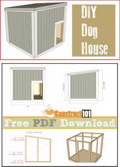 Dog House Plans PDF Download