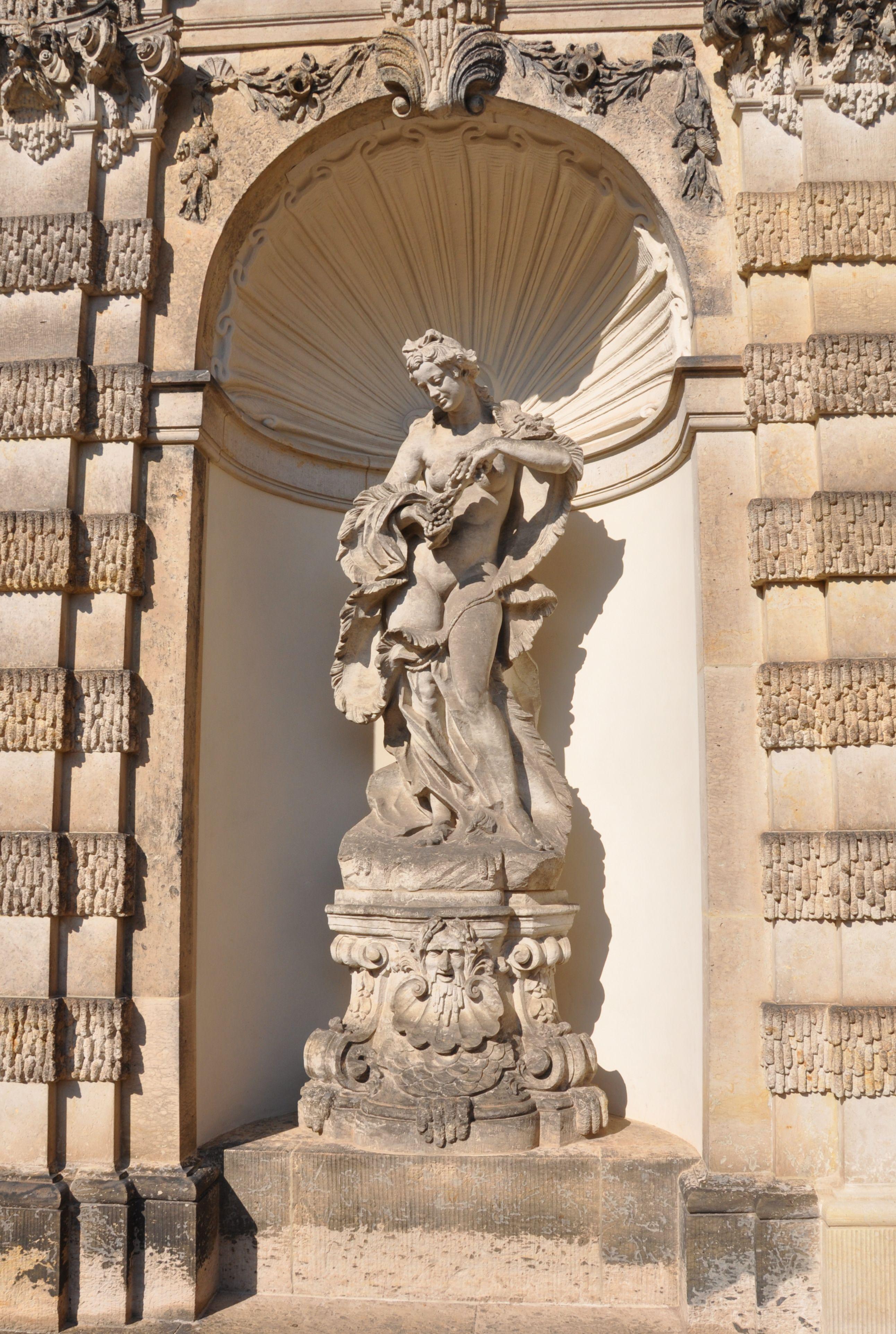 Dresden Zwinger Nymphenbad Dresden Wonders Of The World Greek Statue