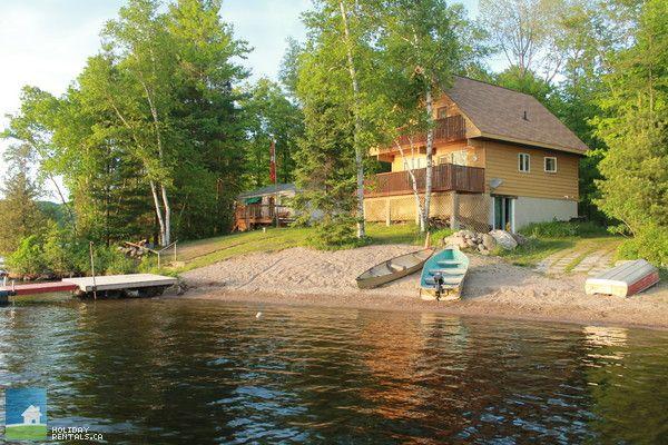 Lakeside Haven Year Round Rental Ontario Cottages Cottage Rental Lakeside Cottage