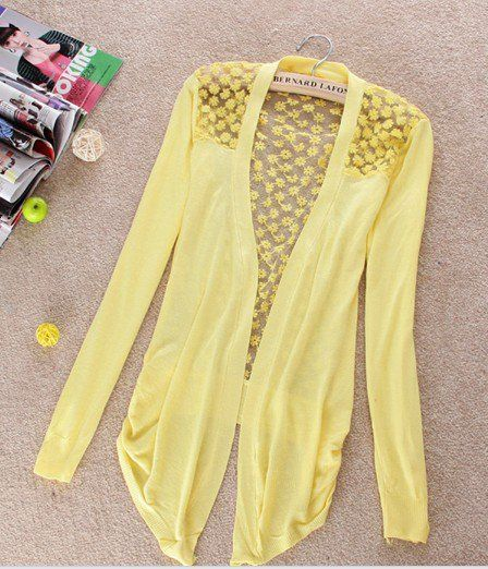 Lightweight Lace Cardigan (multiple colors) | clothes & shoes ...
