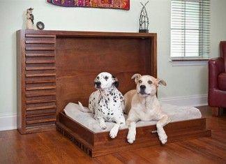 Muebles funcionales cama para mascotas ideal para - Muebles funcionales para espacios reducidos ...